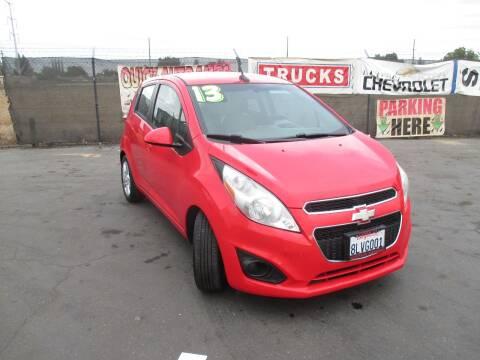 2013 Chevrolet Spark for sale at Quick Auto Sales in Modesto CA