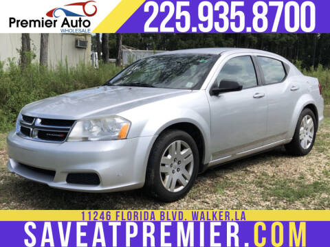 2012 Dodge Avenger for sale at Premier Auto Wholesale in Baton Rouge LA