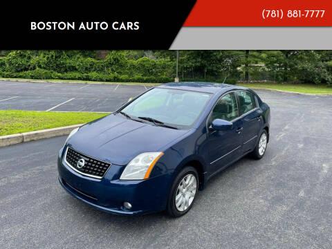 2009 Nissan Sentra for sale at Boston Auto Cars in Dedham MA