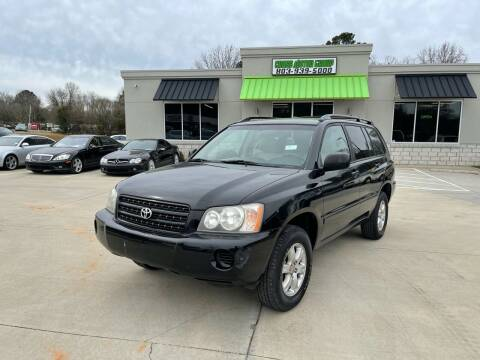 2002 Toyota Highlander for sale at Cross Motor Group in Rock Hill SC