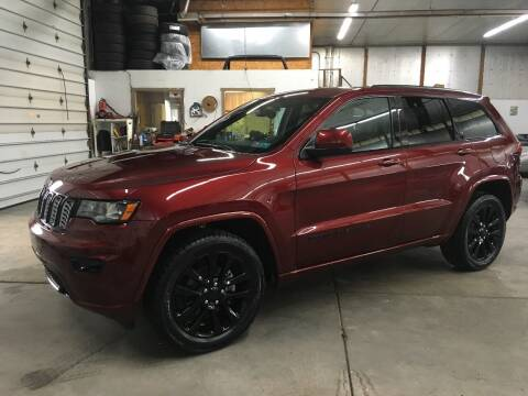 2017 Jeep Grand Cherokee for sale at T James Motorsports in Gibsonia PA
