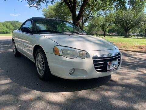 2004 Chrysler Sebring for sale at 210 Auto Center in San Antonio TX