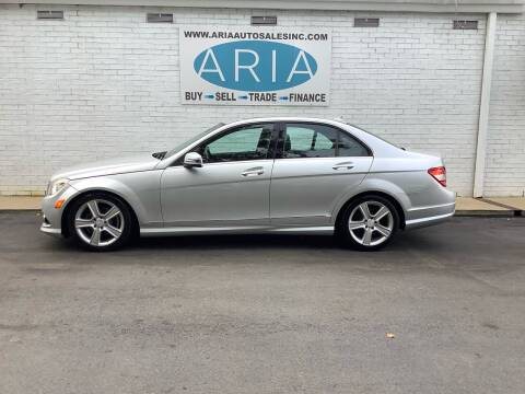 2010 Mercedes-Benz C-Class for sale at ARIA AUTO SALES INC.COM in Raleigh NC