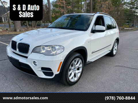2013 BMW X5 for sale at S & D Auto Sales in Maynard MA