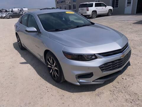 2017 Chevrolet Malibu for sale at Becker Autos & Trailers in Beloit KS
