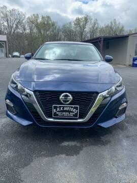 2020 Nissan Altima for sale at RHK Motors LLC in West Union OH