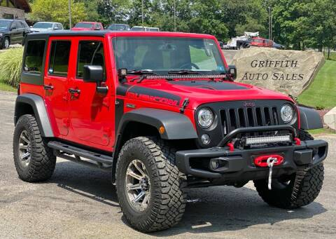 2018 Jeep Wrangler JK Unlimited for sale at Griffith Auto Sales in Home PA