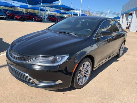 2015 Chrysler 200 for sale at JOHN HOLT AUTO GROUP, INC. in Chickasha OK