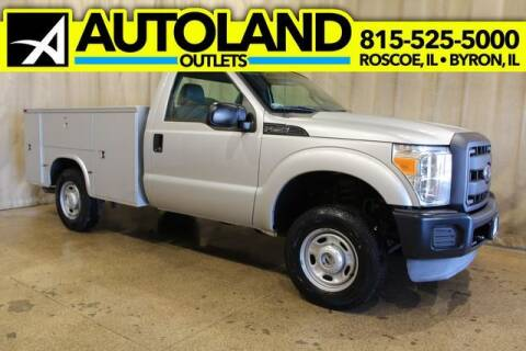 2012 Ford F-250 Super Duty for sale at AutoLand Outlets Inc in Roscoe IL