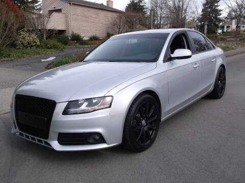 2011 Audi A4 for sale at Eastside Motor Company in Kirkland WA