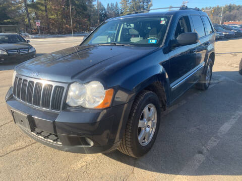 2010 Jeep Grand Cherokee for sale at Official Auto Sales in Plaistow NH