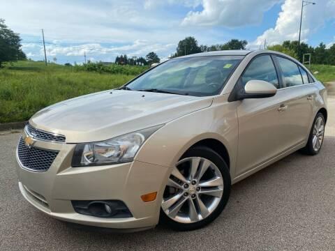 2012 Chevrolet Cruze for sale at Gwinnett Luxury Motors in Buford GA