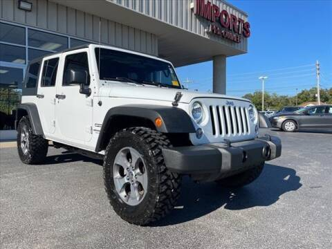 2016 Jeep Wrangler Unlimited for sale at Gillie Hyde Auto Group in Glasgow KY