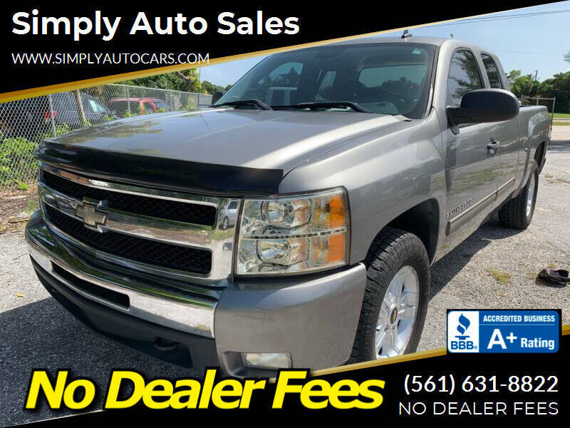 2009 Chevrolet Silverado 1500 for sale at Simply Auto Sales in Palm Beach Gardens FL