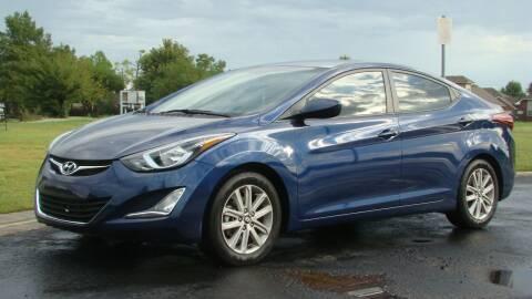 2015 Hyundai Elantra for sale at Red Rock Auto LLC in Oklahoma City OK