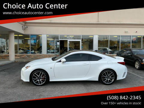 2016 Lexus RC 300 for sale at Choice Auto Center in Shrewsbury MA