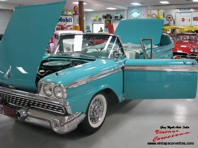 1959 Ford Sunliner for sale in Summerville, GA