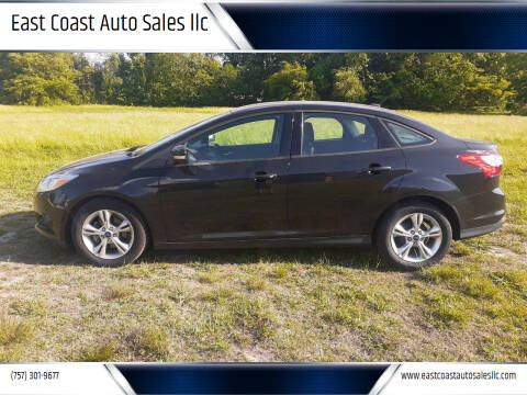 2013 Ford Focus for sale at East Coast Auto Sales llc in Virginia Beach VA