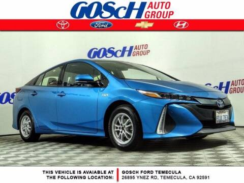 2017 Toyota Prius Prime for sale at BILLY D SELLS CARS! in Temecula CA