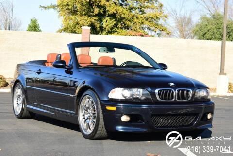 2003 BMW M3 for sale at Galaxy Autosport in Sacramento CA