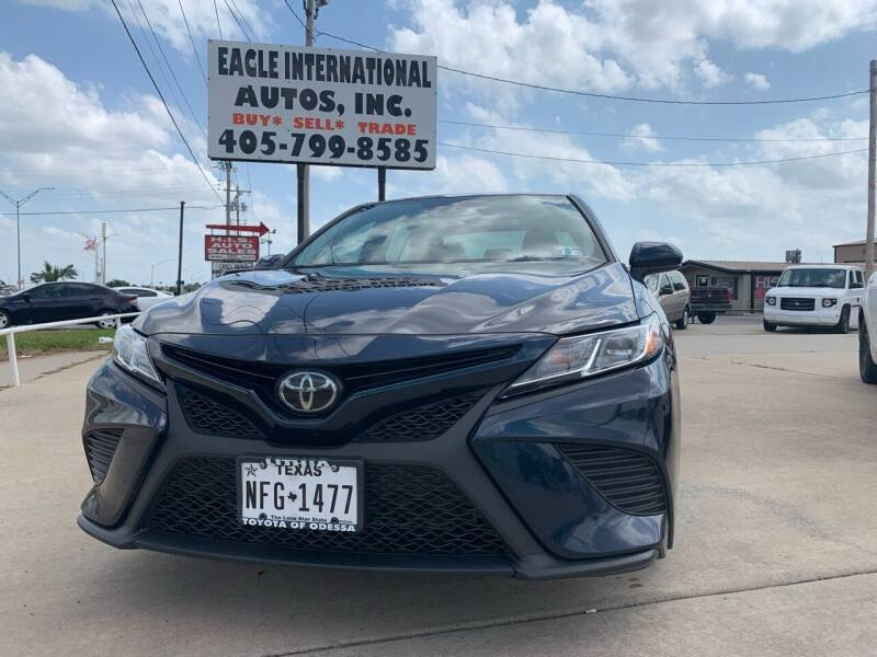 2020 Toyota Camry for sale at Eagle International Autos Inc in Moore OK