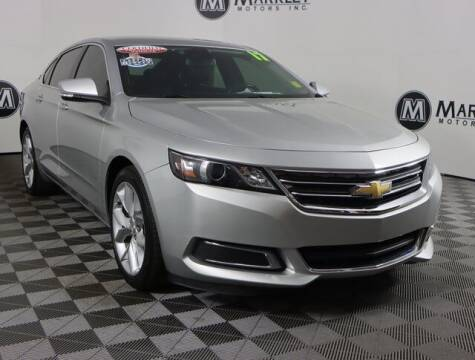 2017 Chevrolet Impala for sale at Markley Motors in Fort Collins CO