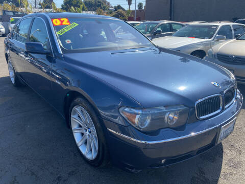2002 BMW 7 Series for sale at North County Auto in Oceanside CA