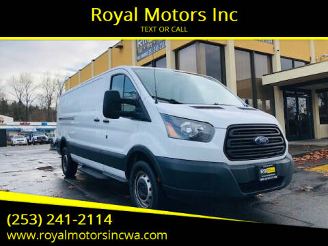 2016 Ford Transit Cargo for sale at Royal Motors Inc in Kent WA