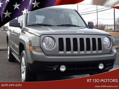 2014 Jeep Patriot for sale at RT 130 Motors in Burlington NJ