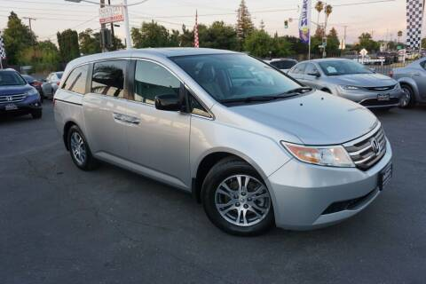 2012 Honda Odyssey for sale at Industry Motors in Sacramento CA