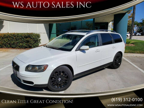 2006 Volvo V50 for sale at WS AUTO SALES INC in El Cajon CA