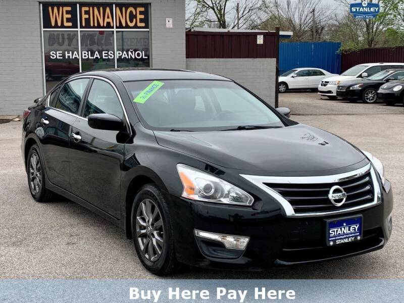 2015 Nissan Altima for sale at Stanley Direct Auto in Mesquite TX