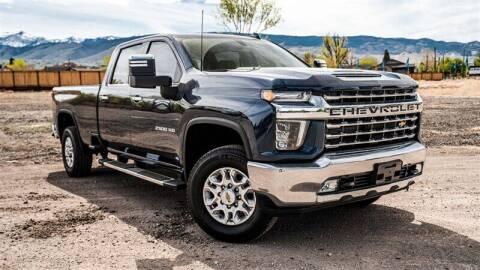 2021 Chevrolet Silverado 2500HD for sale at MUSCLE MOTORS AUTO SALES INC in Reno NV