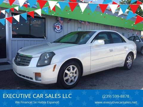 2005 Cadillac CTS for sale at EXECUTIVE CAR SALES LLC in North Fort Myers FL