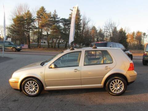 2005 Volkswagen Golf for sale at GEG Automotive in Gilbertsville PA