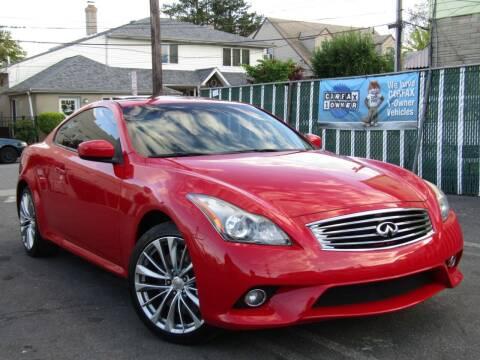 2012 Infiniti G37 Coupe for sale at The Auto Network in Lodi NJ