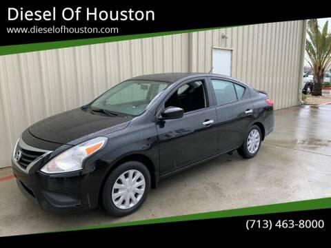 2015 Nissan Versa for sale at Diesel Of Houston in Houston TX