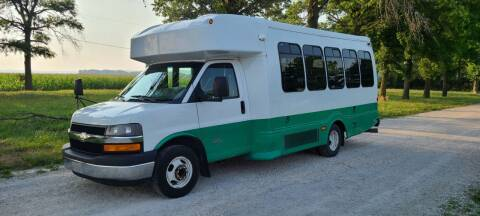 2012 Chevrolet C4500 Shuttle Bus for sale at Allied Fleet Sales in Saint Charles MO