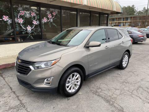 2018 Chevrolet Equinox for sale at J Franklin Auto Sales in Macon GA