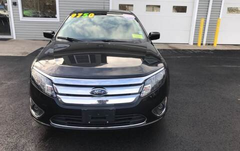 2012 Ford Fusion for sale at Leo's Auto Sales and Service in Taunton MA
