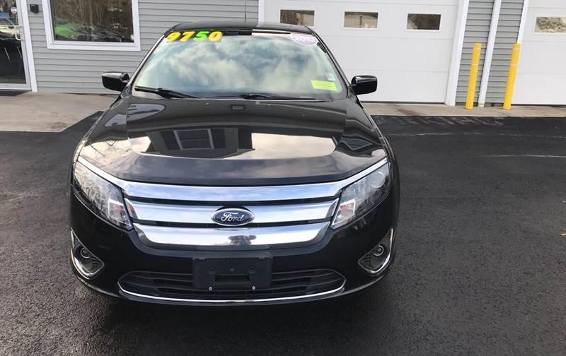 2012 Ford Fusion for sale at Leo's Auto Sales and Service in Taunton MA