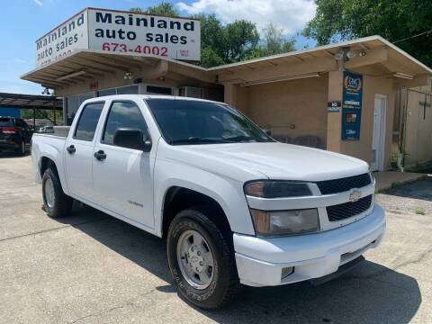 2005 Chevrolet Colorado for sale at Mainland Auto Sales Inc in Daytona Beach FL