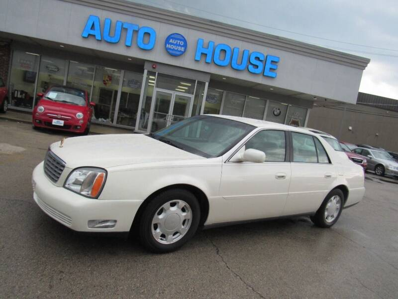 2000 Cadillac DeVille for sale at Auto House Motors in Downers Grove IL