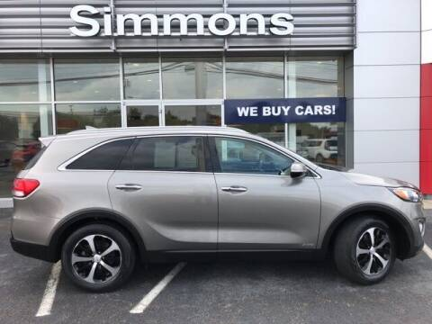 2018 Kia Sorento for sale at SIMMONS NISSAN INC in Mount Airy NC