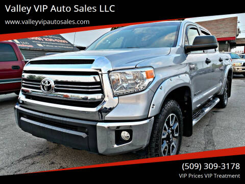 2016 Toyota Tundra for sale at Valley VIP Auto Sales LLC in Spokane Valley WA
