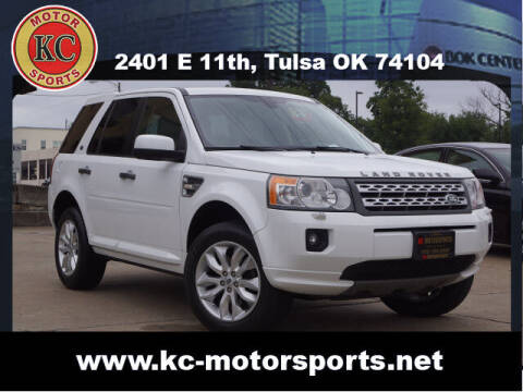 2011 Land Rover LR2 for sale at KC MOTORSPORTS in Tulsa OK