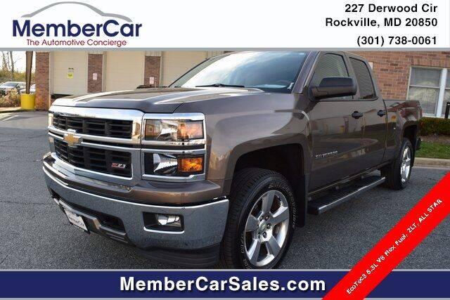 2014 Chevrolet Silverado 1500 for sale at MemberCar in Rockville MD