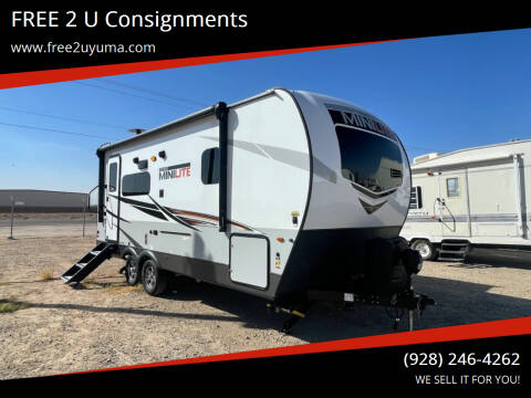2021 Forest River Mini Lite for sale at FREE 2 U Consignments in Yuma AZ