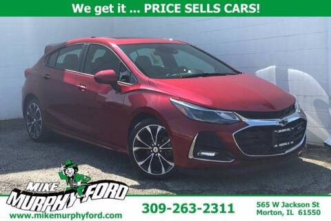 2019 Chevrolet Cruze for sale at Mike Murphy Ford in Morton IL