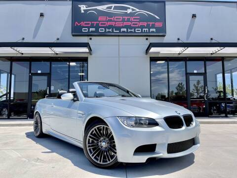 2008 BMW M3 for sale at Exotic Motorsports of Oklahoma in Edmond OK